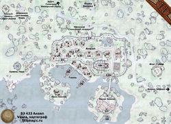 Карта города Анвил