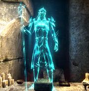 Маннимарко, видение в говорящем камне