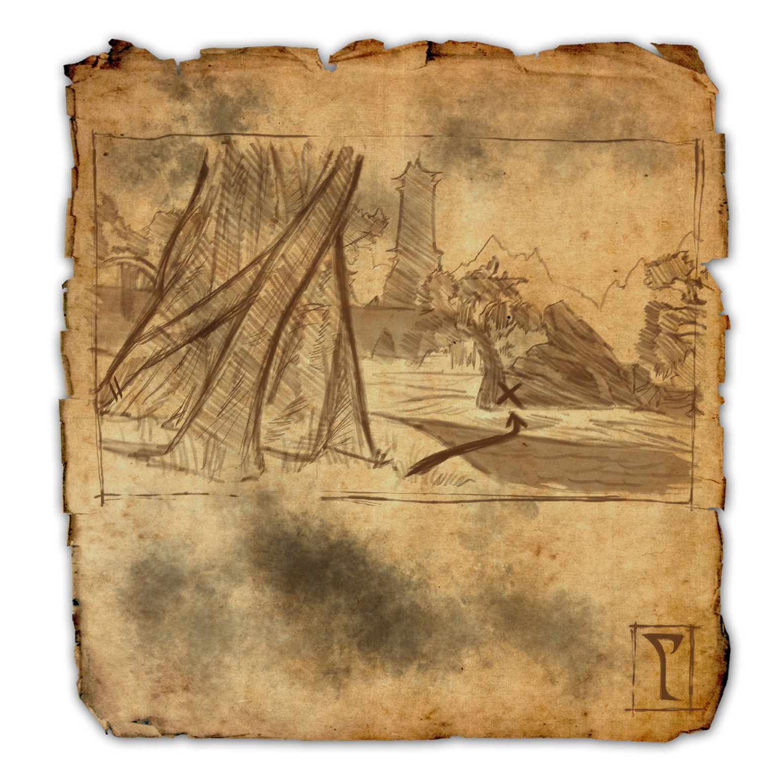 Deshaan Treasure Map VI | Elder Scrolls | FANDOM powered by Wikia on