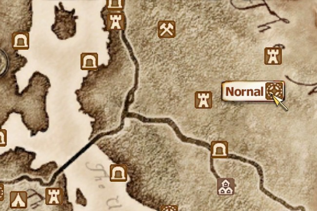 Nornal oblivion elder scrolls fandom powered by wikia map gumiabroncs Choice Image