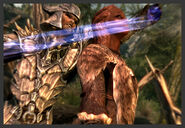 Скрин - Призванный меч