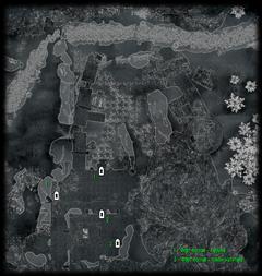 Форт Кастав - Двор - план