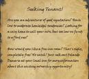 Seeking Tenant!