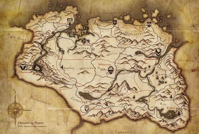 Skyrim Map Legend Map Symbols (Skyrim) | Elder Scrolls | FANDOM powered by Wikia