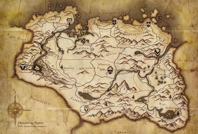 Map symbols skyrim elder scrolls fandom powered by wikia map symbols skyrim gumiabroncs Choice Image