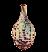 Плод алоказии (иконка)