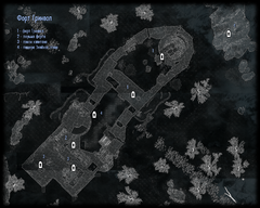 Форт Гринвол - двор - план
