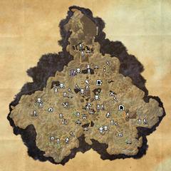 Хладная Гавань-Дорожное святилище Усадьбы разгула-Карта