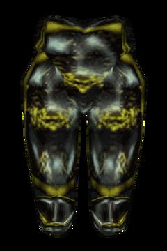 Эбонитовые поножи (morrowind)