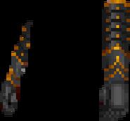 Arena - Ebony Gauntlets (F)