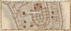 Дом Брадона Лирриана. Карта
