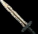 Драконий костяной двуручный меч