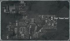 Клуб Новый Гнисис (карта)