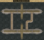 Arena Underworks - Interior Map - Morrowind