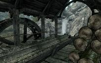 Campamento maderero Puente del Dragón sierra