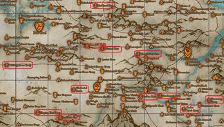 Mappa giganti