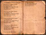 A Mother's Nursery Rhyme