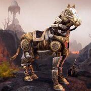 Adamant Dwarven Horse Адамантовая двемерская лошадь