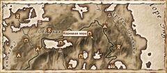 Корневая нора. Карта