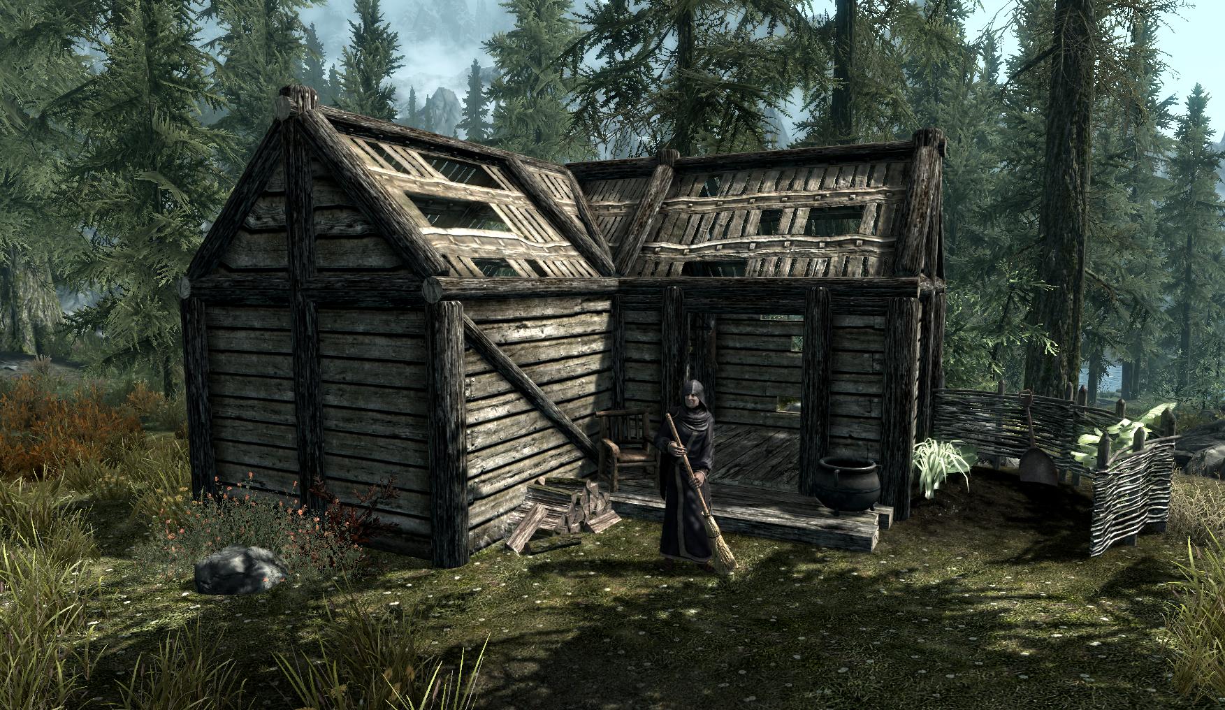 Skyrim Building A House Library
