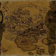 Cyrus i Dram – ekran ładowania
