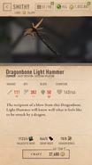 Dragonbone Light Hammer