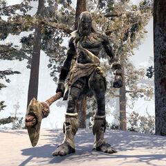 Wrothgarski gigant z gry The Elder Scrolls Online