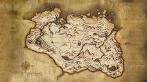 Map of Skyrim