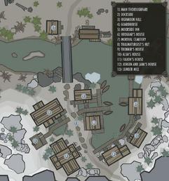 Mappa di Morthal