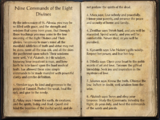 Nine Commands of the Eight Divines