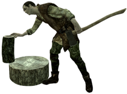Sigurd Cortando Leña