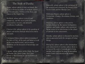 The Book of Daedra | Elder Scrolls | FANDOM powered by Wikia