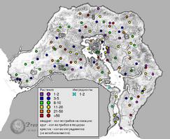 Каменный гриб карта