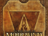 Manuale di The Elder Scrolls III: Morrowind