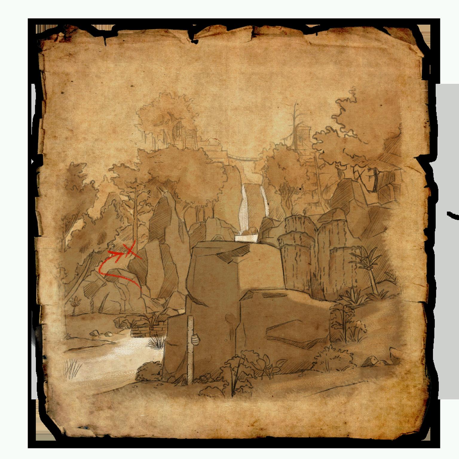 Murkmire Treasure Map II | Elder Scrolls | FANDOM powered by