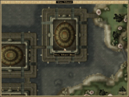 Vivec, Telvanni Plaza Local Map Morrowind