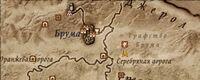 Карта святилища Намиры