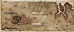 Норналхорст. Карта