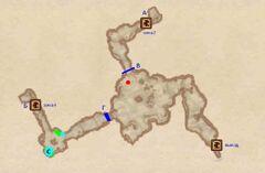 Пещеры озера Арриус. План