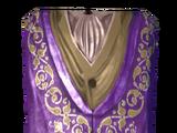 Роскошный пурпурный наряд