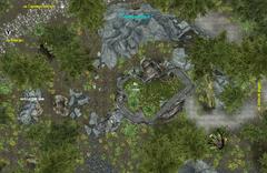 Теневая башня(план локации)