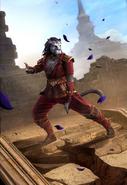 Legends - Goutfang Adept (Card Art)