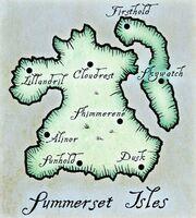 Wyspy Summerset (mapa)