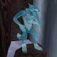 Ледяная статуя оборотня (Bloodmoon)