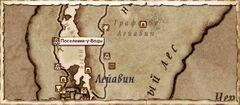Поселение у воды. Карта