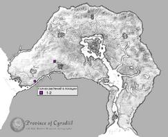 Спиддал карта