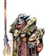 Ashlander Morrowind art