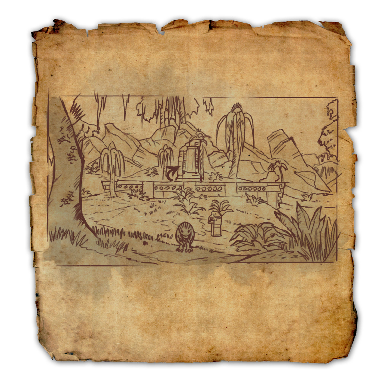 Shadowfen Treasure Map IV | Elder Scrolls | FANDOM powered by Wikia