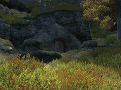 Вход в пещеру андерпалл