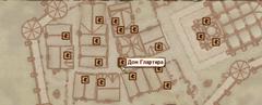 Дом Глартира - карта